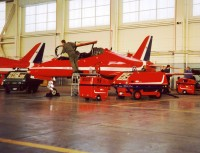 94B en 87A en Hawk (Red Arrows)